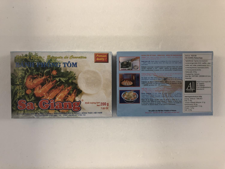 SA GIANG Shrimp Chips 200g
