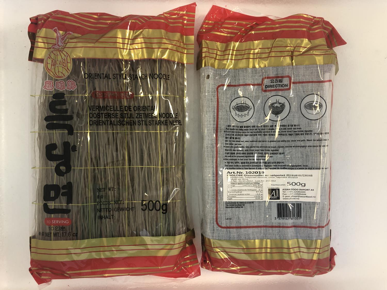 EAGLOBE Oriental Style Starch Noodle 500gr å