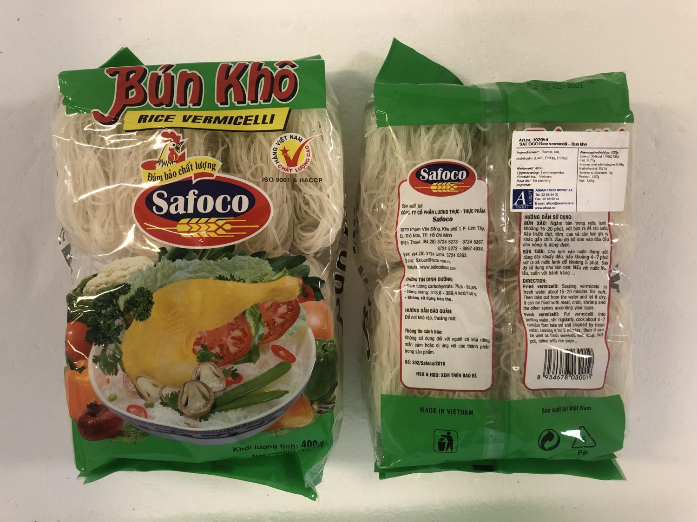 SAFOCO Rice Vermicelli 400gr ø