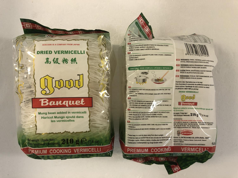 ACECOOK Good Banquet Dried Vermicelli 210gr å