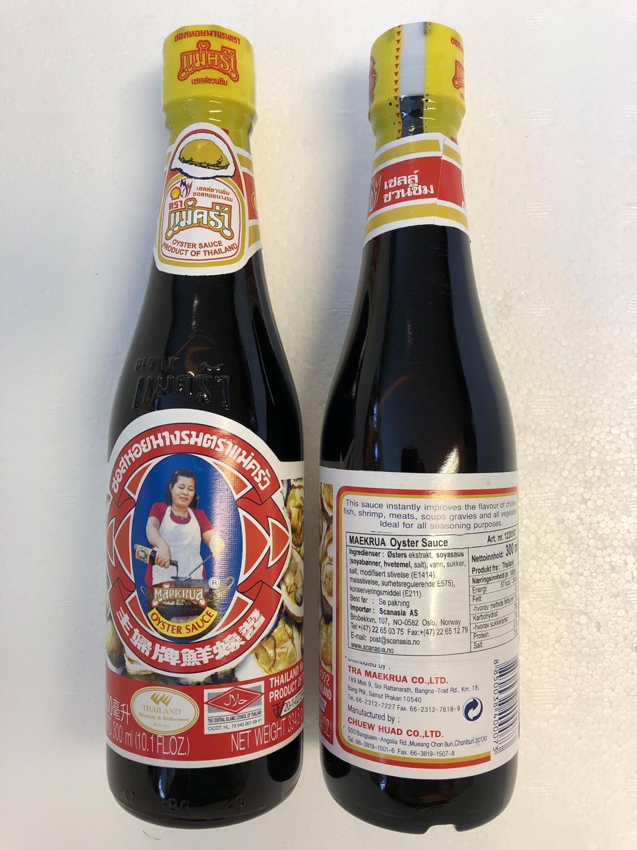 'MAEKRUA Oyster Sauce 300ml å