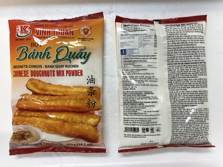 'VINH THUAN Chinese Doughnuts Mix Powder 400gr