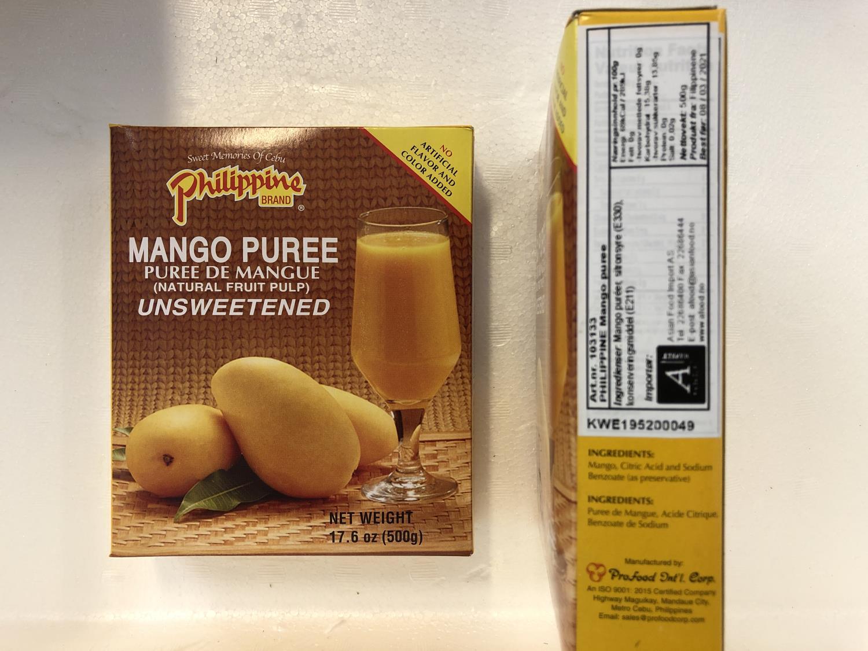 'PHILIPPINE Mango Puree 500gr