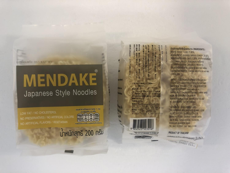 TPF Mendake Japanese Style Noodles 200gr å