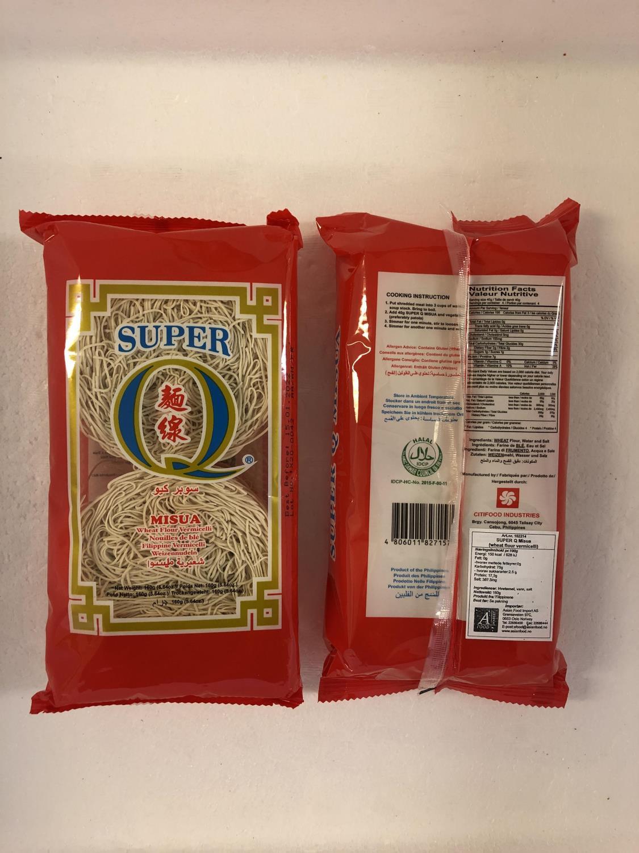 SUPER Q Misua Wheat Flour Vermicelli 160g