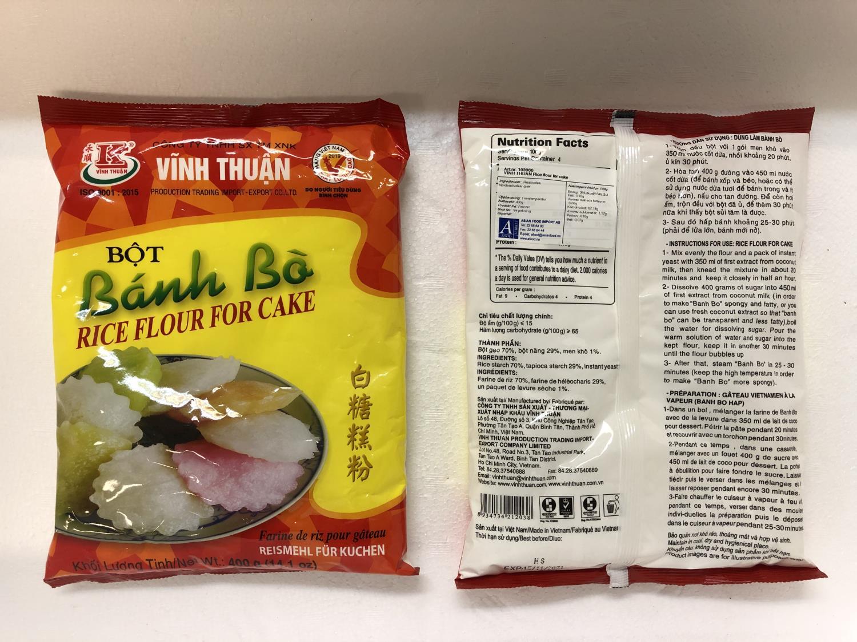 'VINH THUAN Rice Flour for Cake 400gr