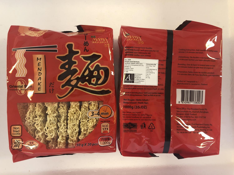 MAMA Mendake Oriental Style Noodles 1000gr å