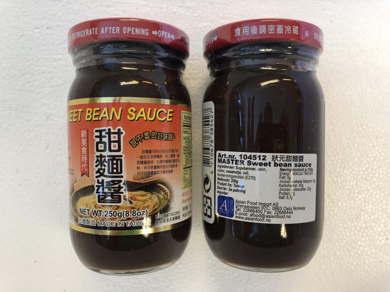 'MASTER Sweet Bean Sauce 250gr