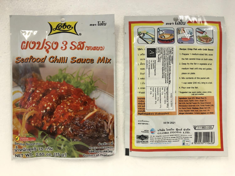 'LOBO Seafood Chilli Sauce Mix 75gr