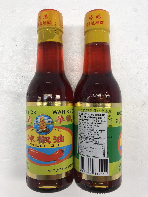 'KOON YICK Chilli Oil 142gr