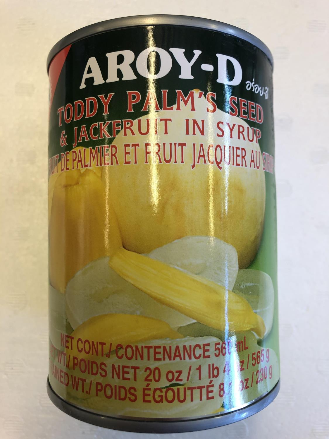 'AROY-D Toddy Palm & Jackfruit in Syrup 565gr