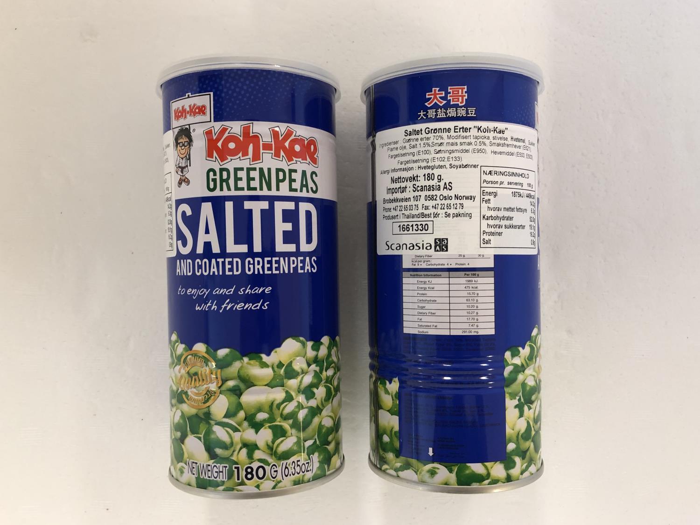 'KOH KAE Salted and Coated Greenpeas 180gr
