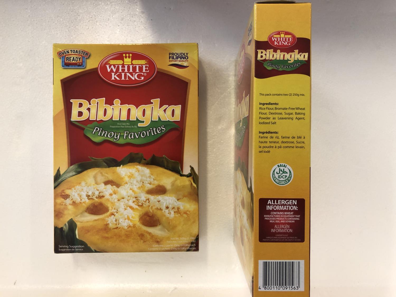 'WHITE KING Bibingka Rice Cake Mix 500gr