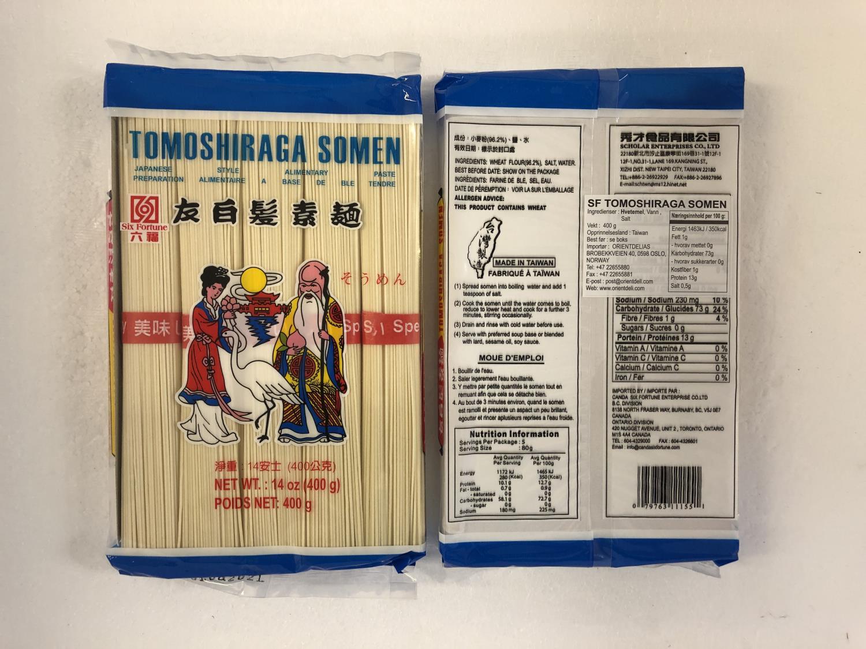 'SIX FORTUNE Tomoshiraga Somen Noodle 400g