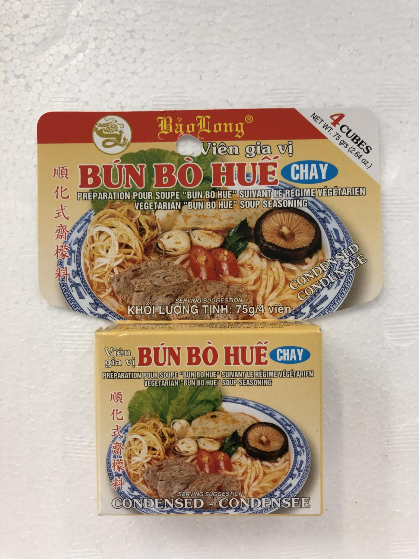 'BAO LONG Soup Seasoning Bun Bo Hue Vegetarian  75gr