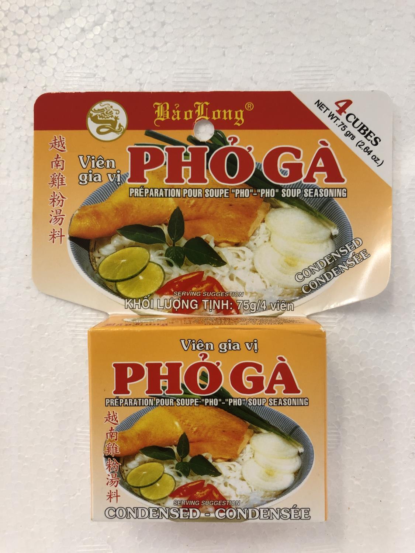 'BAO LONG Soup Broth Pho Ga 75gr