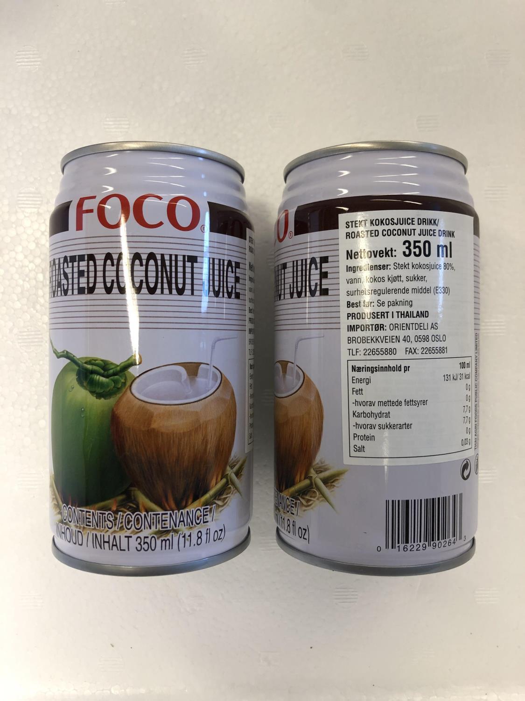 'FOCO Roasted Coconut Juice 350ML