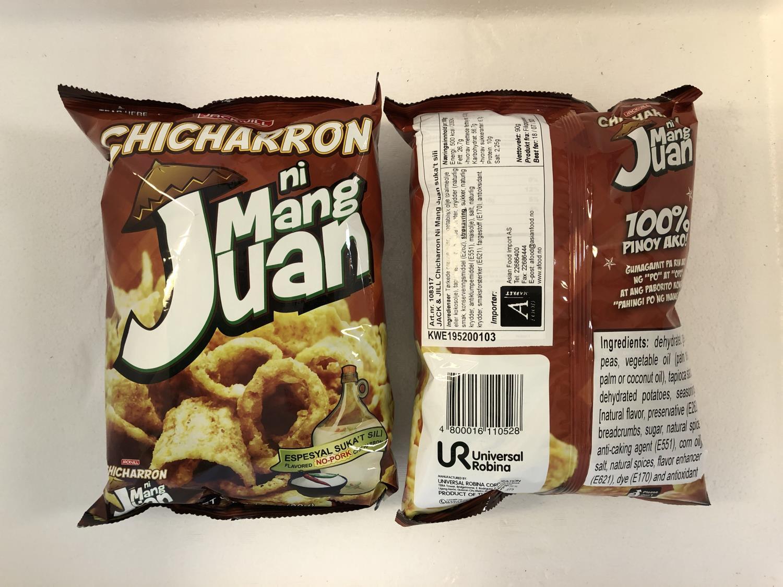 'JACK & JILL Chicharron Ni Mang Juan 90gr