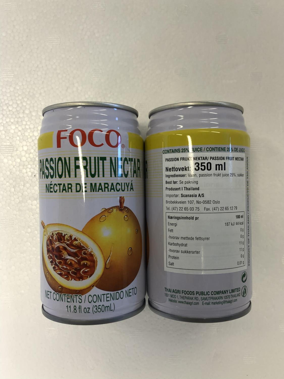 'FOCO Passion Fruit Drink 350ml