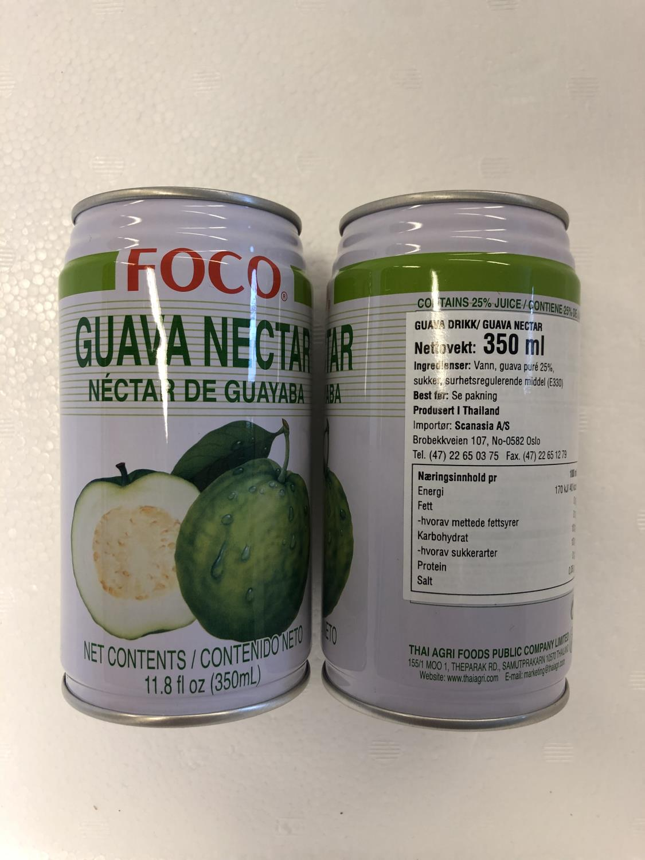 'FOCO Guava Drink 350ml å