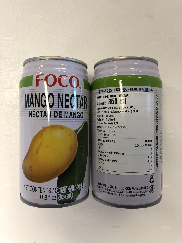 'FOCO Mango Nectar Juice 350ML å