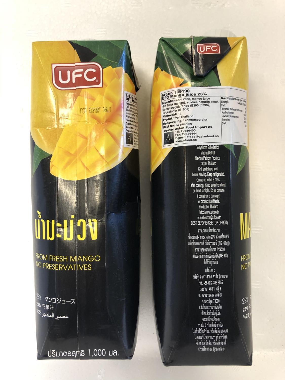 'UFC Mango Juice 1L ø