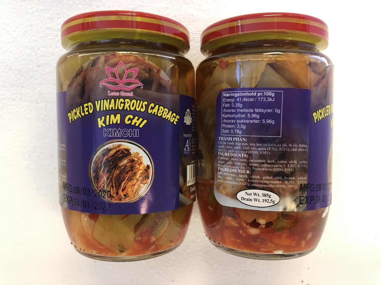 'LOTUS Kimchi Cabbage 430gr