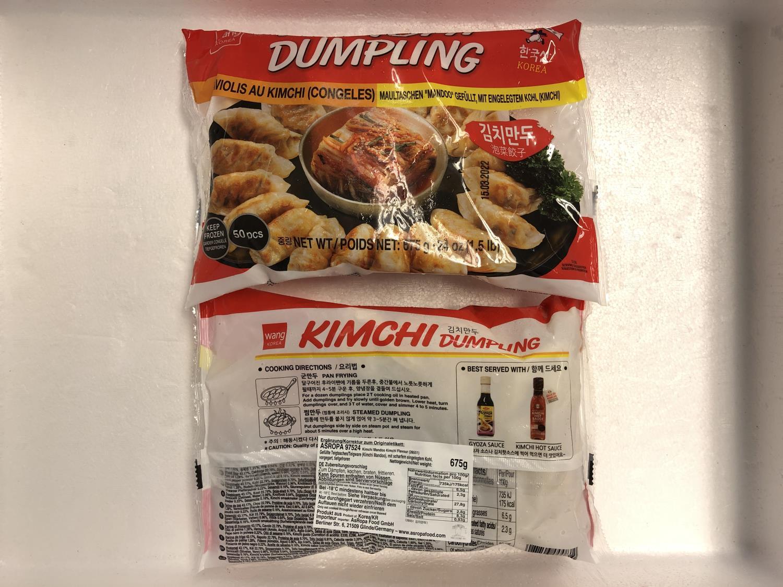 'WANG Kimchi Dumpling 675gr