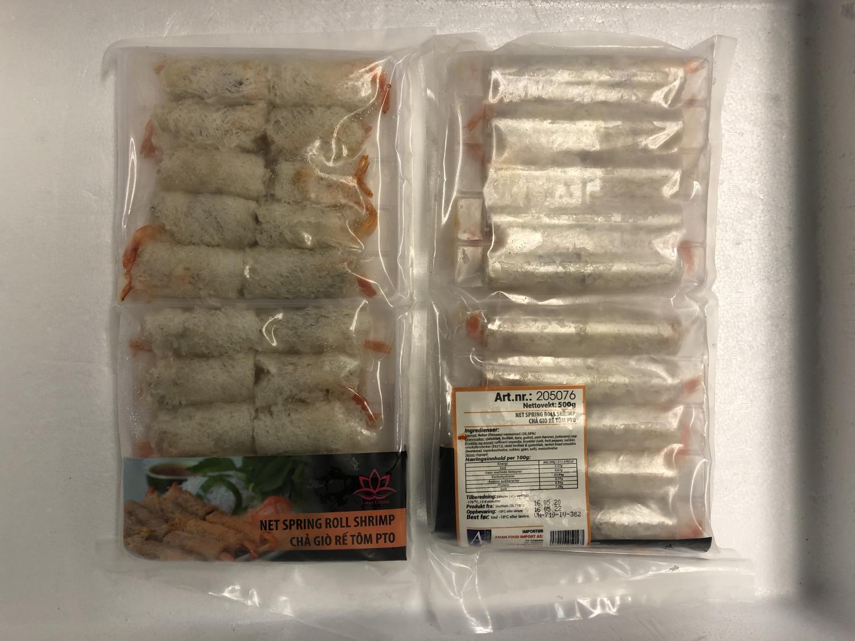 LOTUS Springroll Shrimp 500g ø