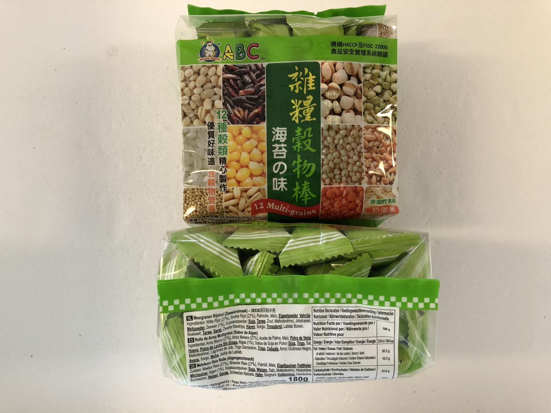 ABC Seaweed Multi Grains Rice Roll 180g