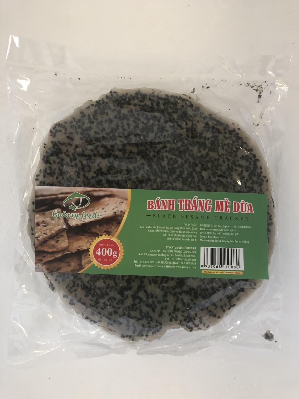 'GALAXY FOODS Black Sesame Cracker 400g