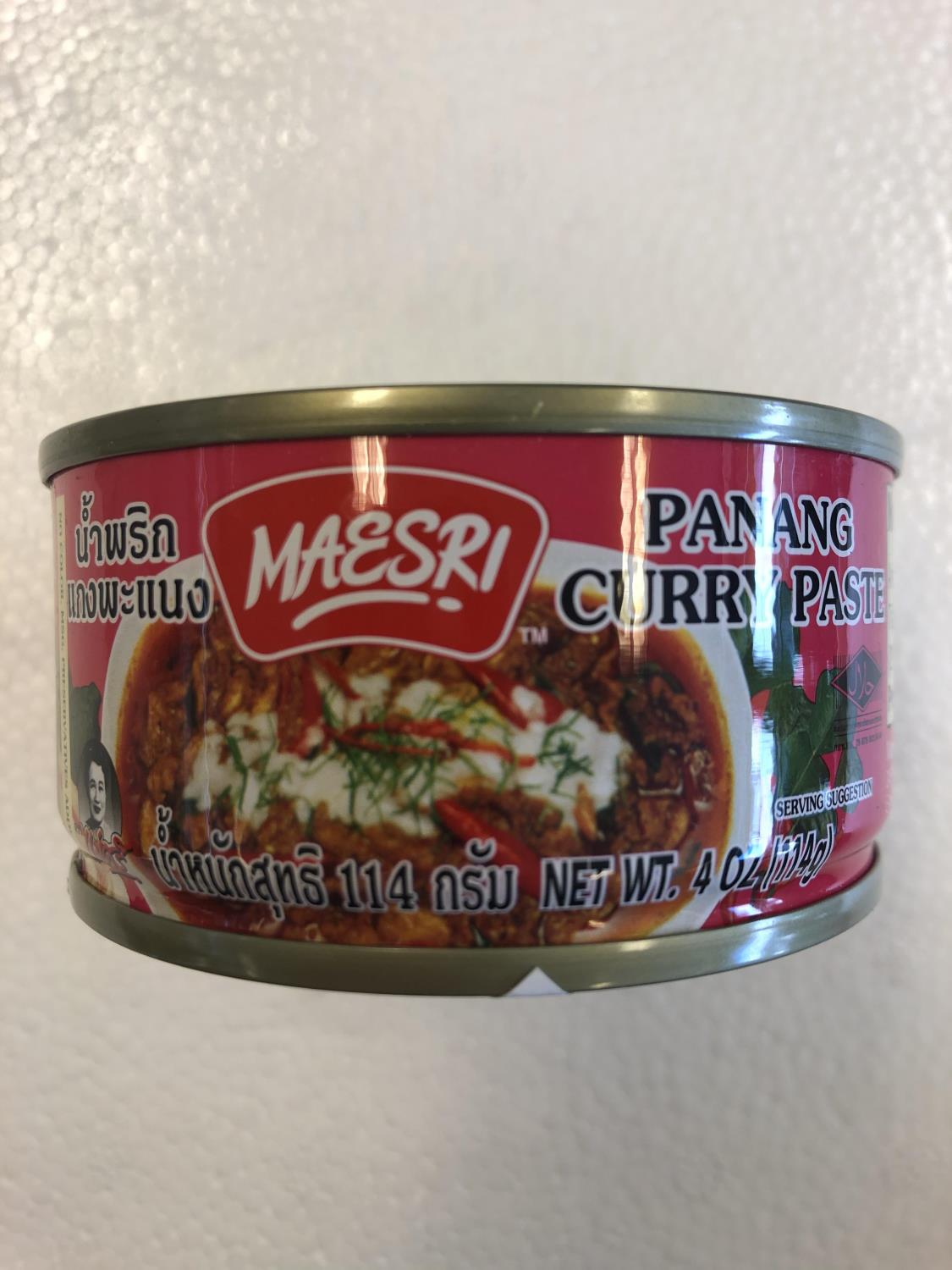 'MAESRI Panang Curry Paste 114g