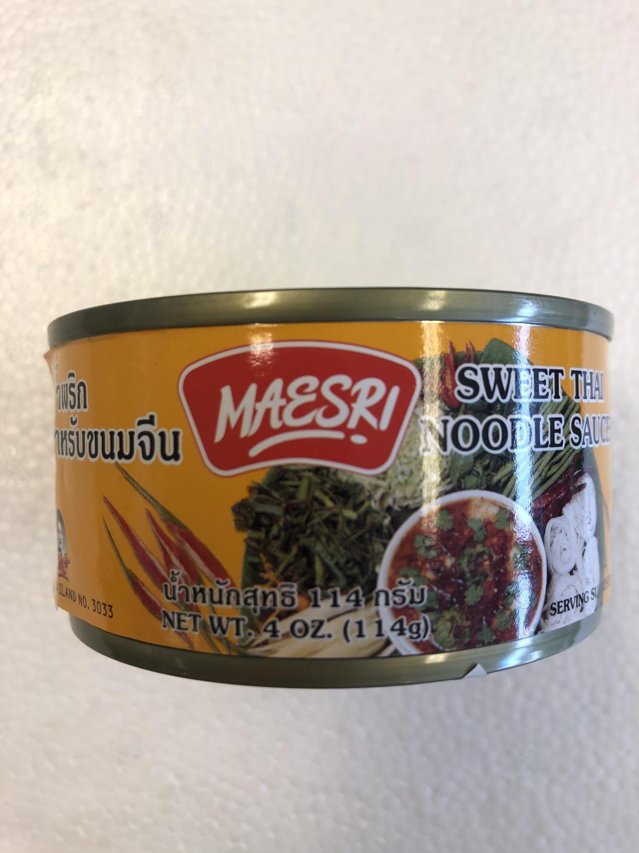 'MAESRI Sweet Thai Noodle Sauce 114g