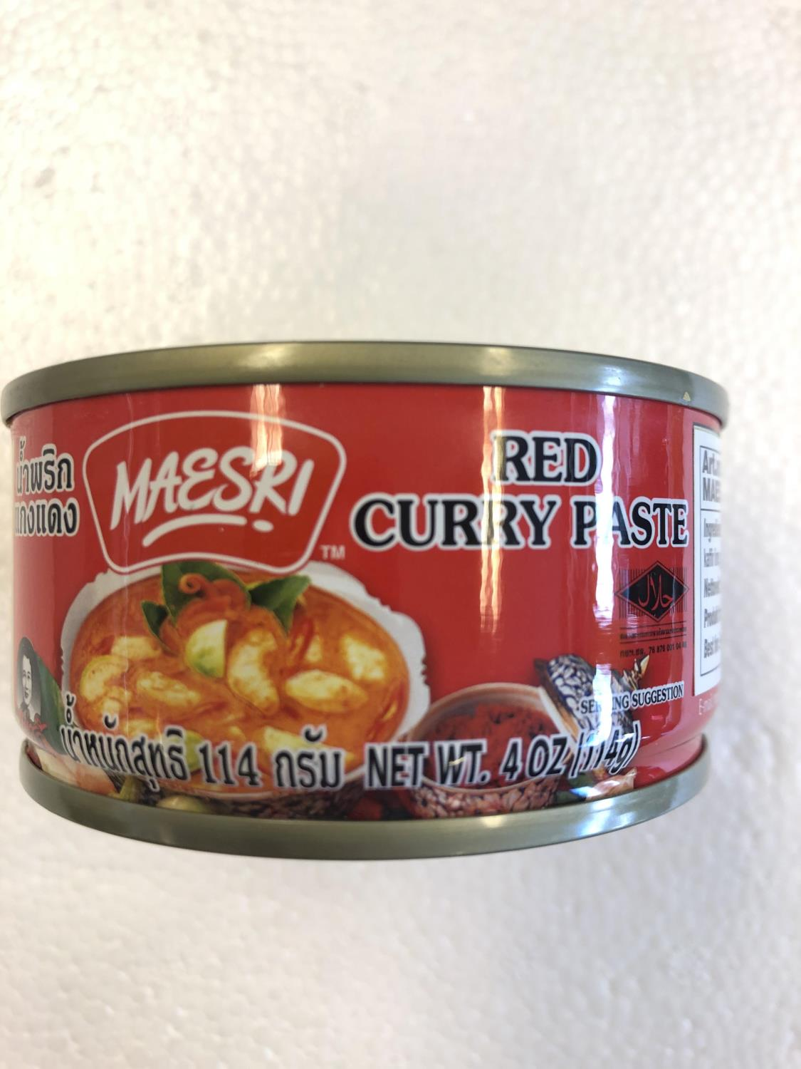 'MAESRI Red Curry Paste 114g