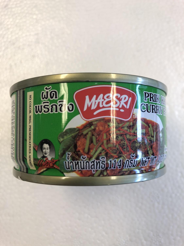 'MAESRI Prik Khing Curry 114g
