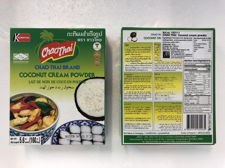 'CHAO THAI Coconut Cream Powder 160g
