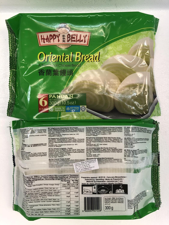 HAPPY BELLY Oriental Bread Pandan