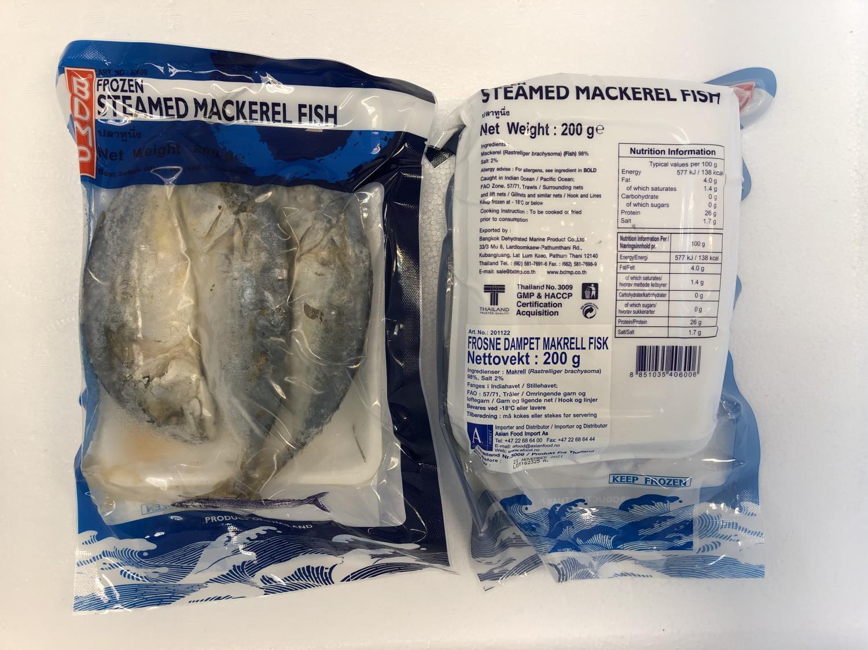 Lotus Frozen Steamed Mackerel 200gr å