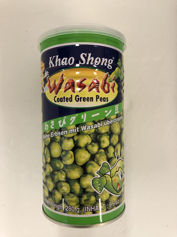 'KHAO SHONG Wasabi Coated Greenpeas 280gr æ