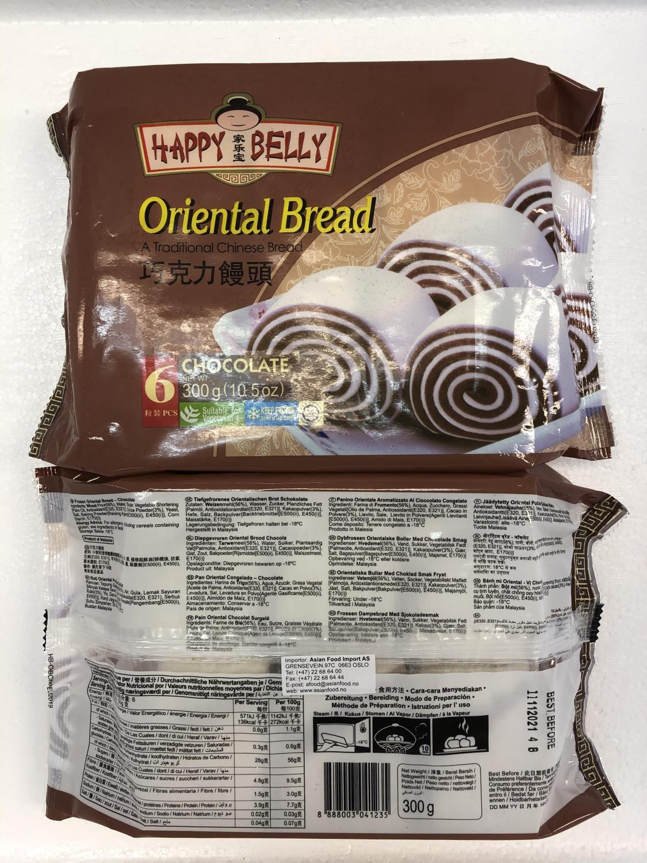 HAPPY BELLY Oriental Bread Chocolate 300gr å