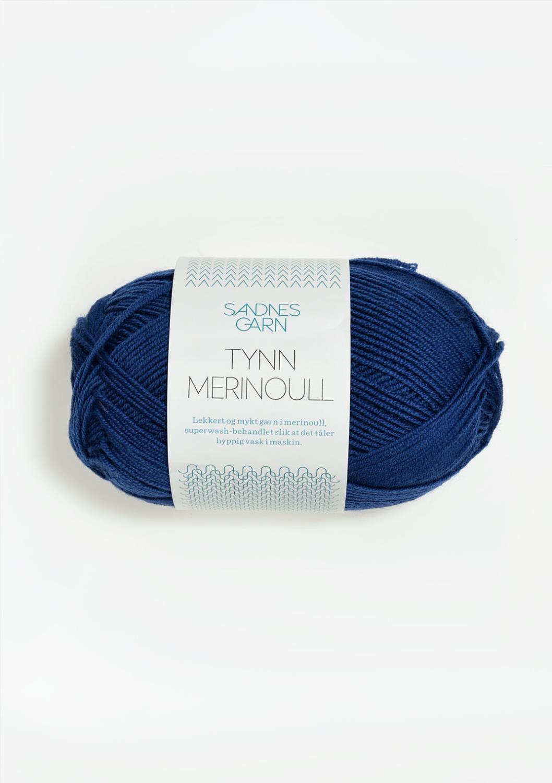 5846 Tynn Merinoull Blå