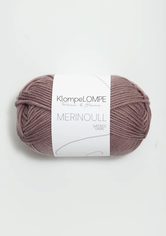 4331 KlompeLOMPE Merinoull Dus Lilla