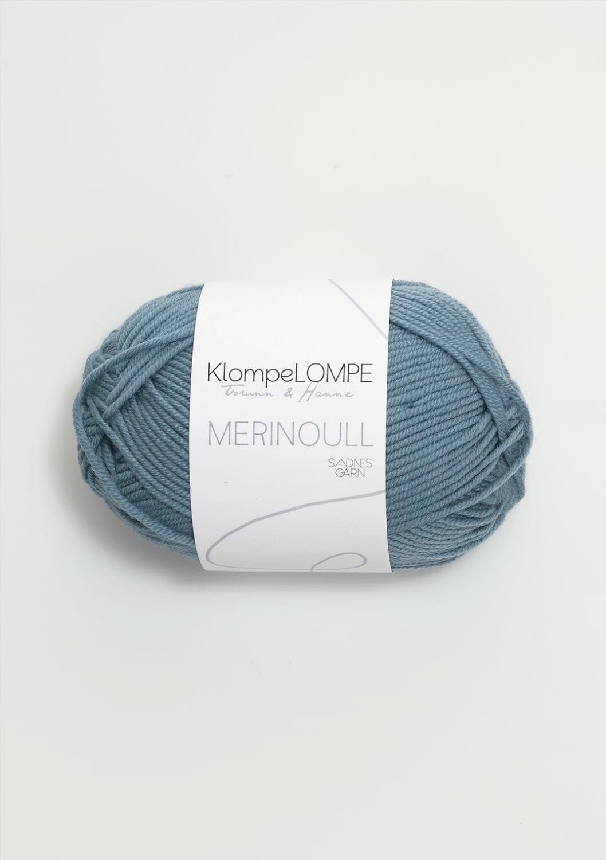 6033 KlompeLOMPE Merinoull Jeansblå