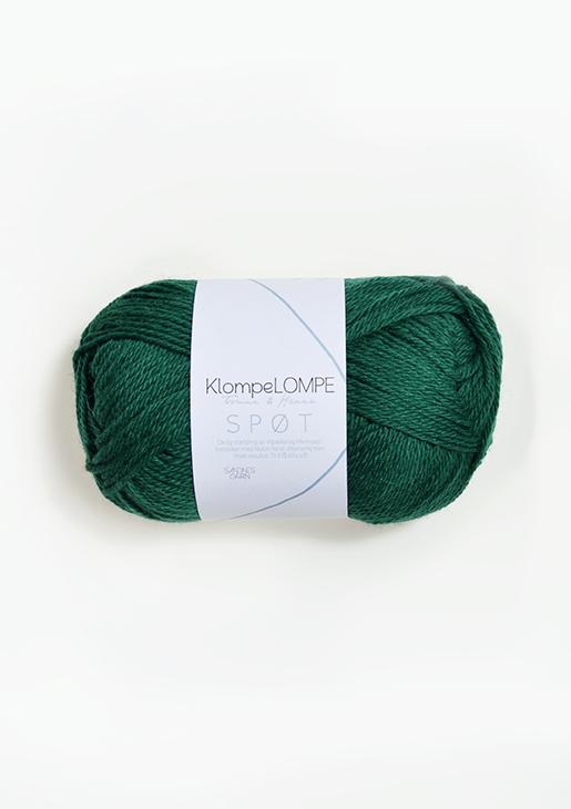 7755 KlompeLOMPE SPØT Smaragd