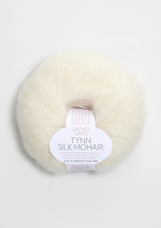1012 Tynn Silk Mohair Natur