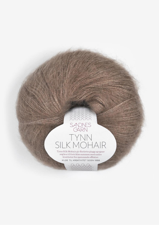 3161 Tynn Silk Mohair Eikenøtt