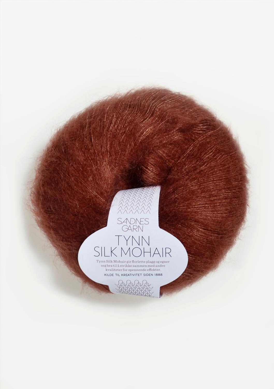 3554 Tynn Silk Mohair Rust
