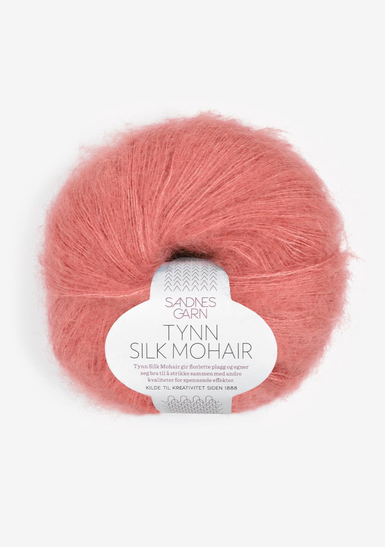 4025 Tynn Silk Mohair Lys Sienna