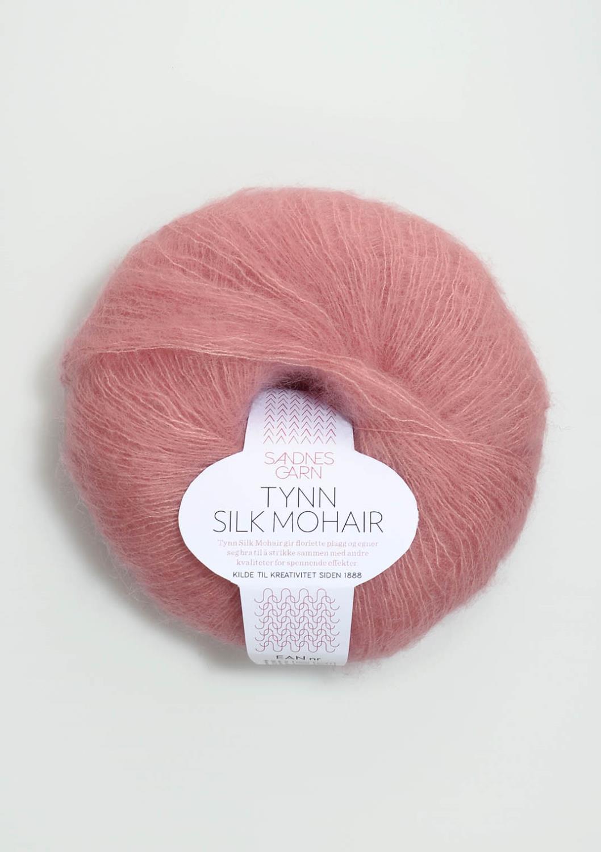 4323 Tynn Silk Mohair Rosa