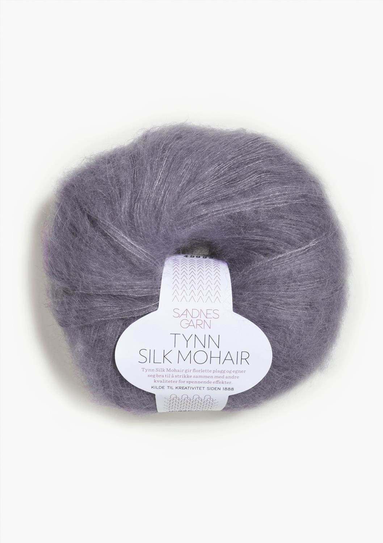 5043 Tynn Silk Mohair Lilla